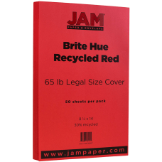 JAM Paper Legal Card Stock 8