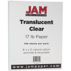JAM Paper Letter Card Stock 8