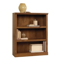 Sauder Select Bookcase 3 Shelf Oiled