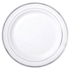 Amscan Plastic Plates With Trim 7