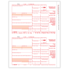 ComplyRight 1099 DIV Tax Forms 2