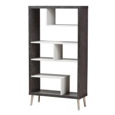 Baxton Studio Eli Display Shelf Dark