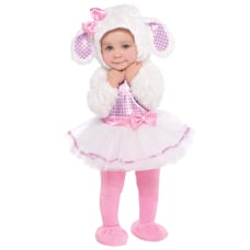 Amscan Little Lamb Infants Halloween Costume