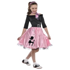 Amscan Miss Sock Hop Toddler Girls
