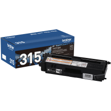 Brother TN 315BK Black Toner Cartridge