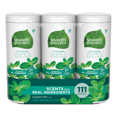 Seventh Generation Multi Purpose Wipes Mint