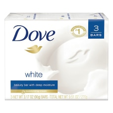 Dove White Beauty Solid Hand Soap