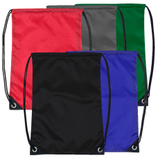 Trailmaker Polyester Drawstring Backpacks Assorted Colors
