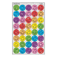 TREND superSpots Sparkle Stickers Silly Smiles