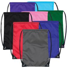 Trailmaker Basic Drawstring Backpacks Assorted Colors