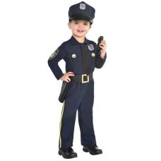 Amscan Police Officer Toddler Boys Halloween