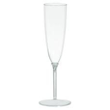 Amscan Premium Plastic Champagne Flutes 5