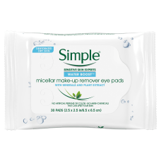 Simple Eye Make Up Remover Pads