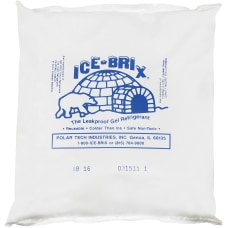Ice Brix Cold Packs 16 oz