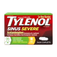 Tylenol Sinus Severe Acetaminophen Daytime Caplets