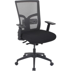 Lorell Mid Back MeshFabric Chair With