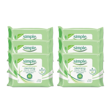 Simple Cleansing Facial Wipes 7 12