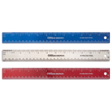Office Depot Brand Stainless Steel Ruler
