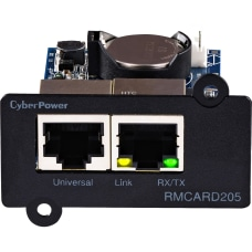 CyberPower RMCARD205 Remote Management Card Black