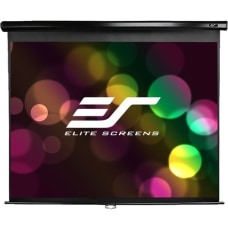 Elite Screens M80UWH Manual Pull Down