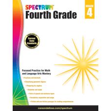 Spectrum Workbook Grade 4