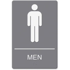 Headline ADA Restroom Sign Mens 6
