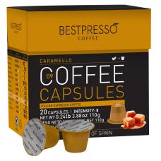 Bestpresso Single Serve Coffee Freshpacks Caramel