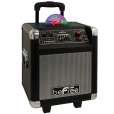 BeFree Sound Projection Party Light Dome