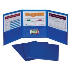 C Line 3 Pocket Poly Portfolios