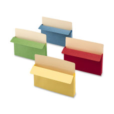 Smead Color Top Tab File Pockets