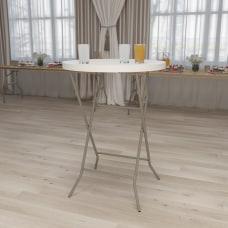 Flash Furniture Round Plastic Bar Height