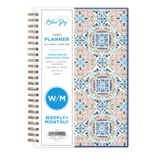 Blue Sky CYO Academic WeeklyMonthly Planner