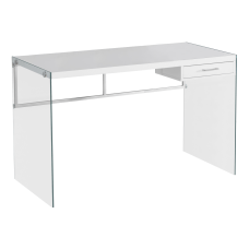Monarch Specialties Computer Desk With Glass