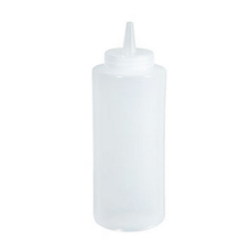 Winco Squeeze Bottle 8 Oz Clear