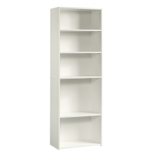 Sauder Beginnings Bookcase 5 Shelf Soft