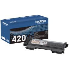 Brother TN 420 Black Toner Cartridge