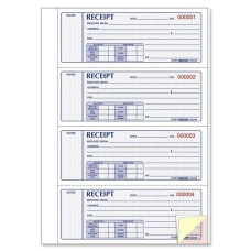 Rediform Hardbound Money Receipt Book 3