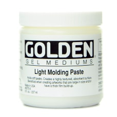 Golden Molding Paste Light 8 Oz
