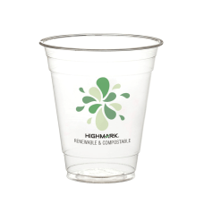 Highmark Compostable Plastic Cups 12 Oz