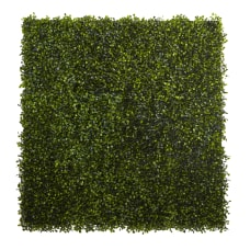 Nearly Natural Plastic Boxwood Mats 12