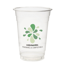 Highmark Plastic Cups Compostable 16 Oz