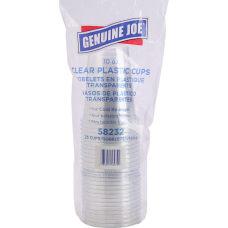 Genuine Joe Clear Plastic Cups 10