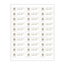 Custom 1 Color Laser Sheet Labels