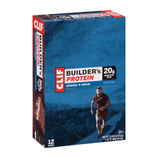 Clif Builders Protein Bar Cookies Creme