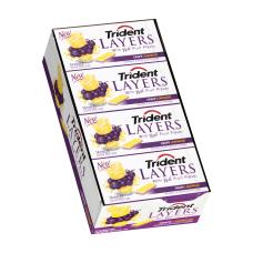 Trident Layers Grape And Lemonade Gum