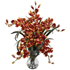 Nearly Natural 34 H Cymbidium Arrangement