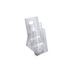 Azar Displays Tiered Modular 3 Pocket