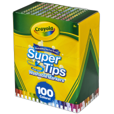 Crayola Washable Super Tips Markers Assorted
