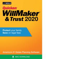 Nolo Quicken WillMaker Trust 2020 Mac