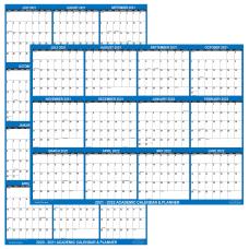 SwiftGlimpse Laminated Academic Wall Calendar 18
